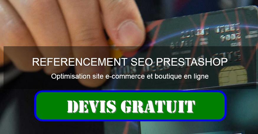 référencement site prestashop